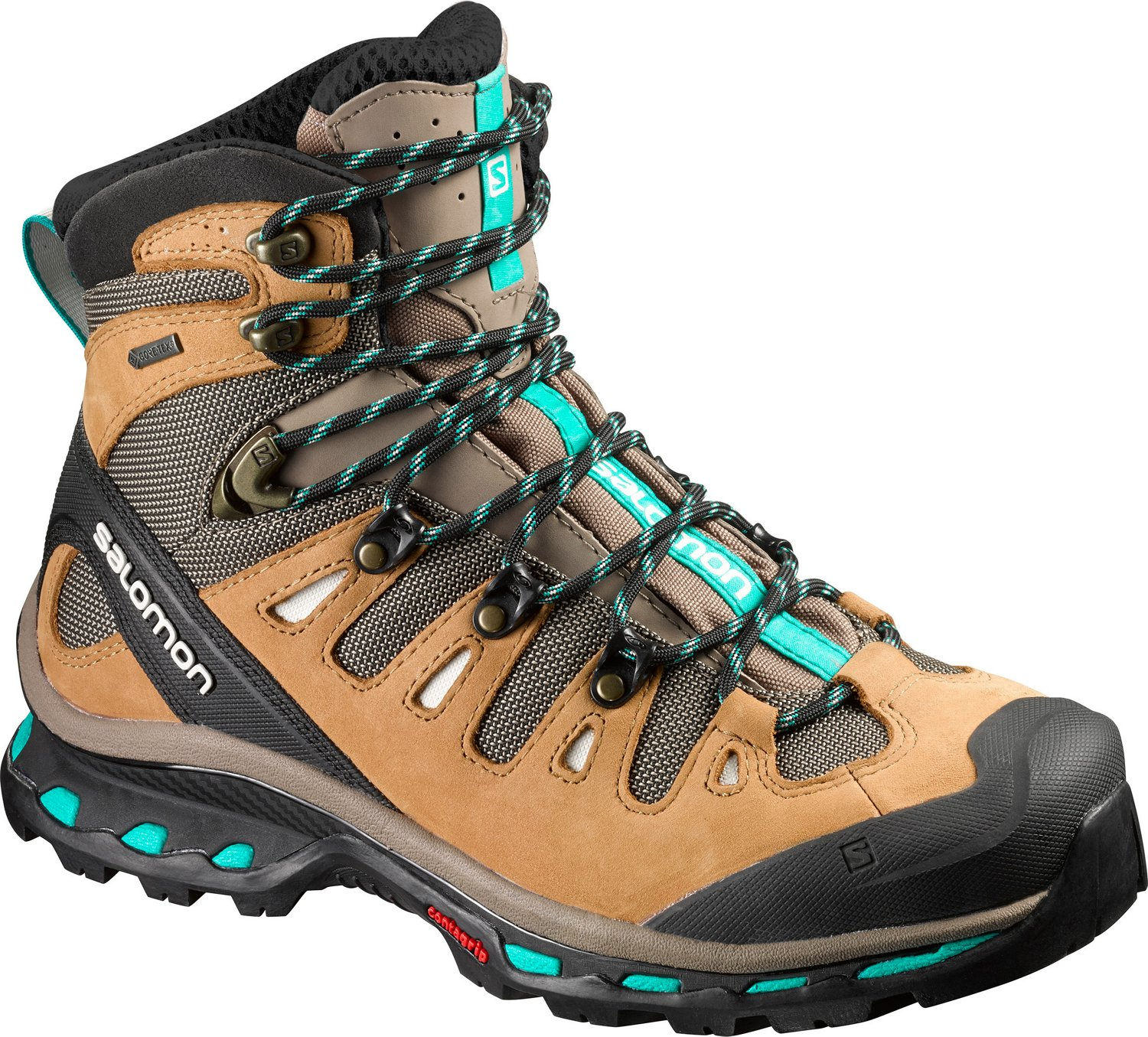 7c59fa34739 Salomon Women's High Quest 4D 2 GTX Hiking Shoes
