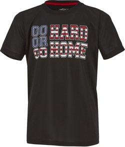 BCG Boys' Go Hard Or Go Home T-shirt