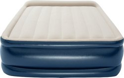 TriTech 22 in Raised Queen Airbed with Pump