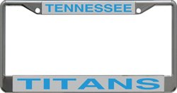 Stockdale Tennessee Titans Mirrored License Plate Frame