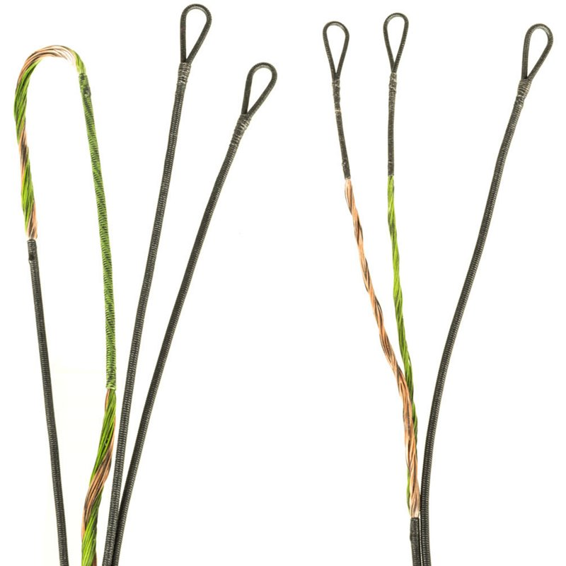 FirstString BowTech Tribute Premium String Kit Green/Brown - Arrows Tips And Accessories at Academy Sports (114343634 36910) photo