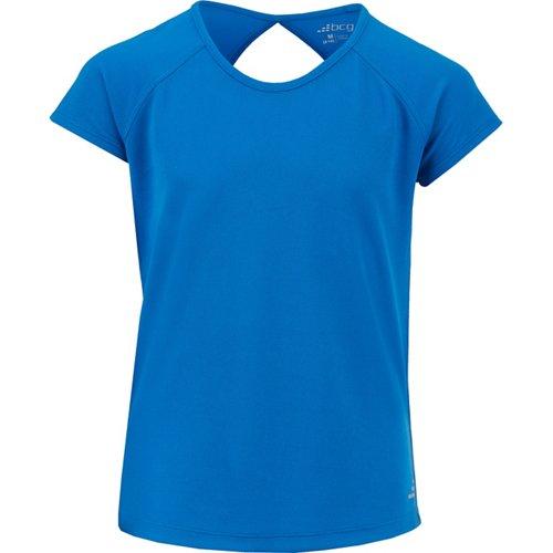 BCG Girls' Keyhole Back T-shirt