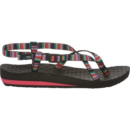 O'Rageous Women's Stripe Antigua Sandals