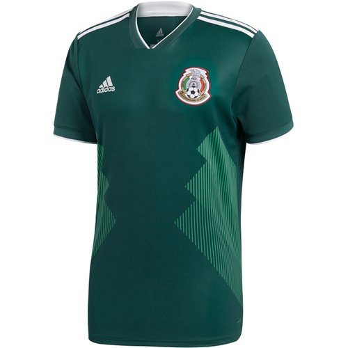 Adidas Men's 2018 Mexico Home Replica Jersey