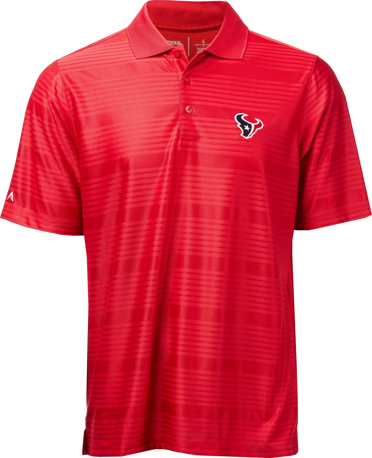 b47eb6492 Display product reviews for Antigua Men s Houston Texans Illusion Polo Shirt