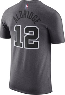 Nike Men's San Antonio Spurs LaMarcus Aldridge 12 Name and Number T-shirt