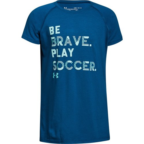 Under Armour Girls' Play Soccer T-shirt