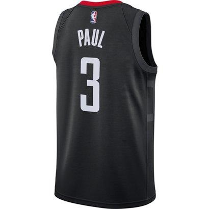 8aa3c29803a ... Nike Men s Houston Rockets Chris Paul 3 Swingman Jersey. Houston  Rockets Clothing. Hover Click to enlarge