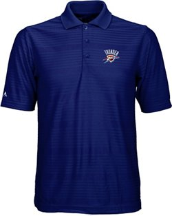 Antigua Men's Oklahoma City Thunder Illusion Polo Shirt