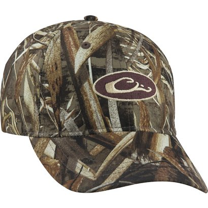 7337a0d7896 ... Drake Waterfowl Men s Waterproof Camo Cap. Camo Headwear. Hover Click  to enlarge