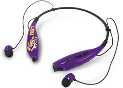Mizco Louisiana State University Wireless Bluetooth Neckband Earbuds