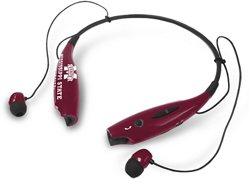 Mizco Mississippi State University Wireless Bluetooth Neckband Earbuds