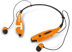 Mizco University of Tennessee Wireless Bluetooth Neckband Earbuds