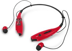 Mizco Texas Tech University Wireless Bluetooth Neckband Earbuds