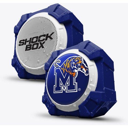 Mizco University of Memphis Bluetooth Shockbox Speaker