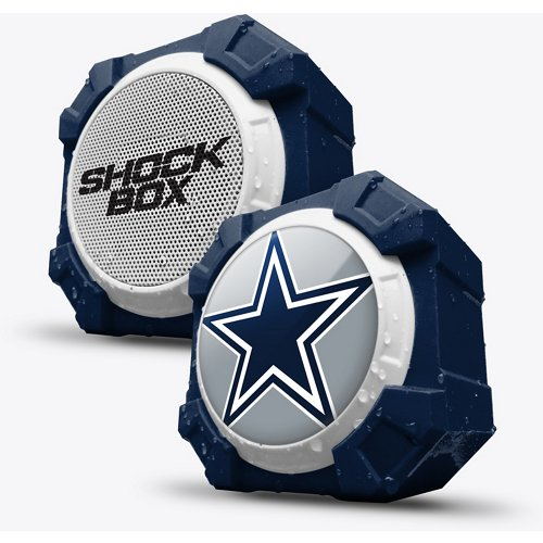 Mizco Dallas Cowboys Shockbox Bluetooth Speaker