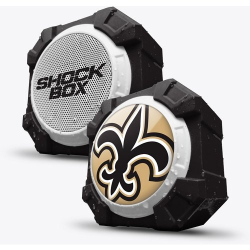 Mizco New Orleans Saints Shockbox Bluetooth Speaker