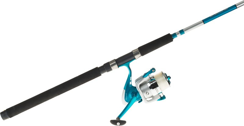 Shakespeare Catch More Fish Surf/Pier M Spinning Rod and Reel Combo – Fishing Combos, Spinning Combos at Academy Sports