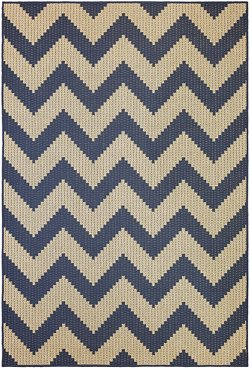 Mohawk Home Oasis Tofino Chevron Indoor/Outdoor Area Rug