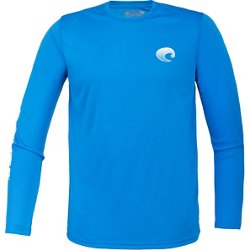 Del Mar Men's Techcrew Long Sleeve Shirt