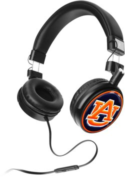 Mizco Auburn University 4D Logo Headphones
