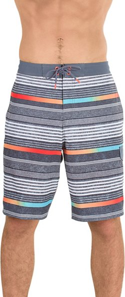 Speedo Men's Ingrain Stripe E-Board Short