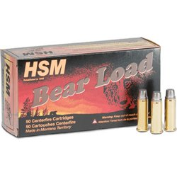 Bear Load WFN .500 S&W Magnum 440-Grain Centerfire Handgun Ammunition