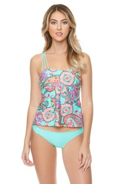 O'Rageous Juniors' Genie Genius Tankini Swim Top