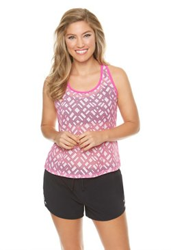 BCG Women's Geo Play Tankini