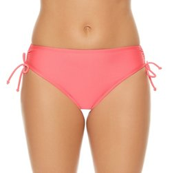 Sweet Escape Women's Solids Hi-Waist Hipster Swim Bottom