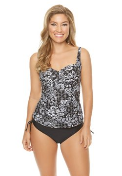 Sweet Escape Women's Sweet Serendipity Molded Tankini Swim Top