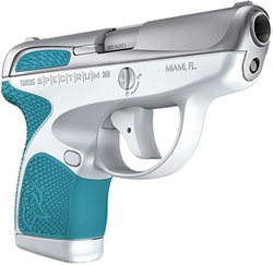 Taurus Spectrum .380 ACP White and Tiffany Blue Pistol