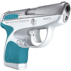 Spectrum .380 ACP White and Tiffany Blue Pistol