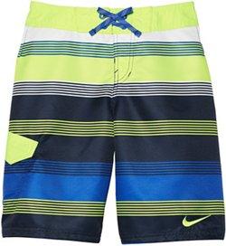 Nike Boys' 9 in Stripe Volley Boardshort