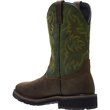 44f9a124da2 Wolverine Men's Rancher EH Steel Toe Wellington Work Boots