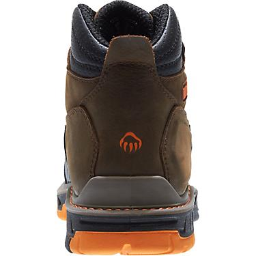 8165ffaf729 Wolverine Men's CarbonMAX Overpass 6 in EH Composite Toe Lace Up Work Boots