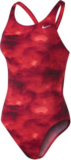 Nike Women's Performance Cloud Fastback Tank 1-Piece Swimsuit