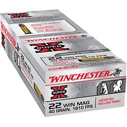 Super-X .22 Winchester Magnum Jacketed Hollow-Point Ammunition