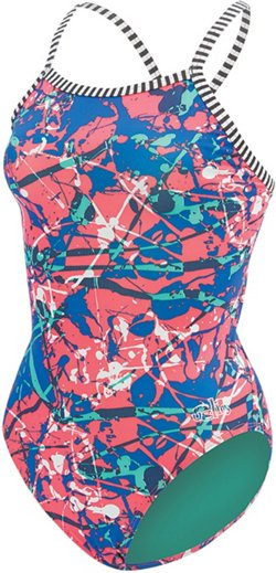 Dolfin Women's Uglies V-2 Back Performance 1-Piece Swimsuit