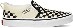 Vans Boys' Asher Slip-On Shoes