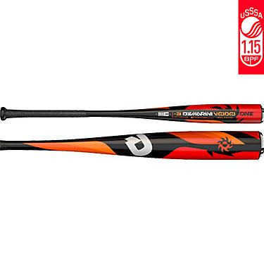 DeMarini Kids' Voodoo ONE Balanced 2018 Senior League Baseball Bat -10