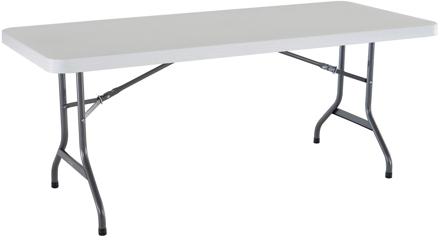 Lifetime 6 ft Commercial Plastic Folding Banquet Table - view number 3