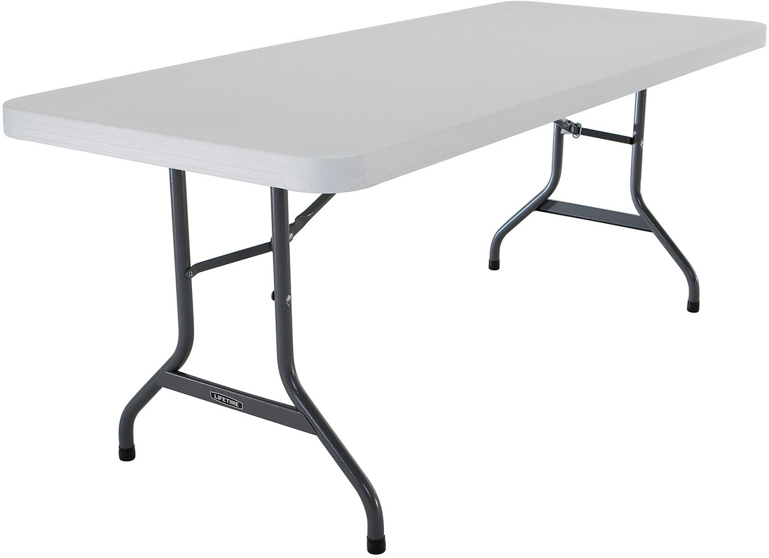 Lifetime 6 ft Commercial Plastic Folding Banquet Table - view number 2