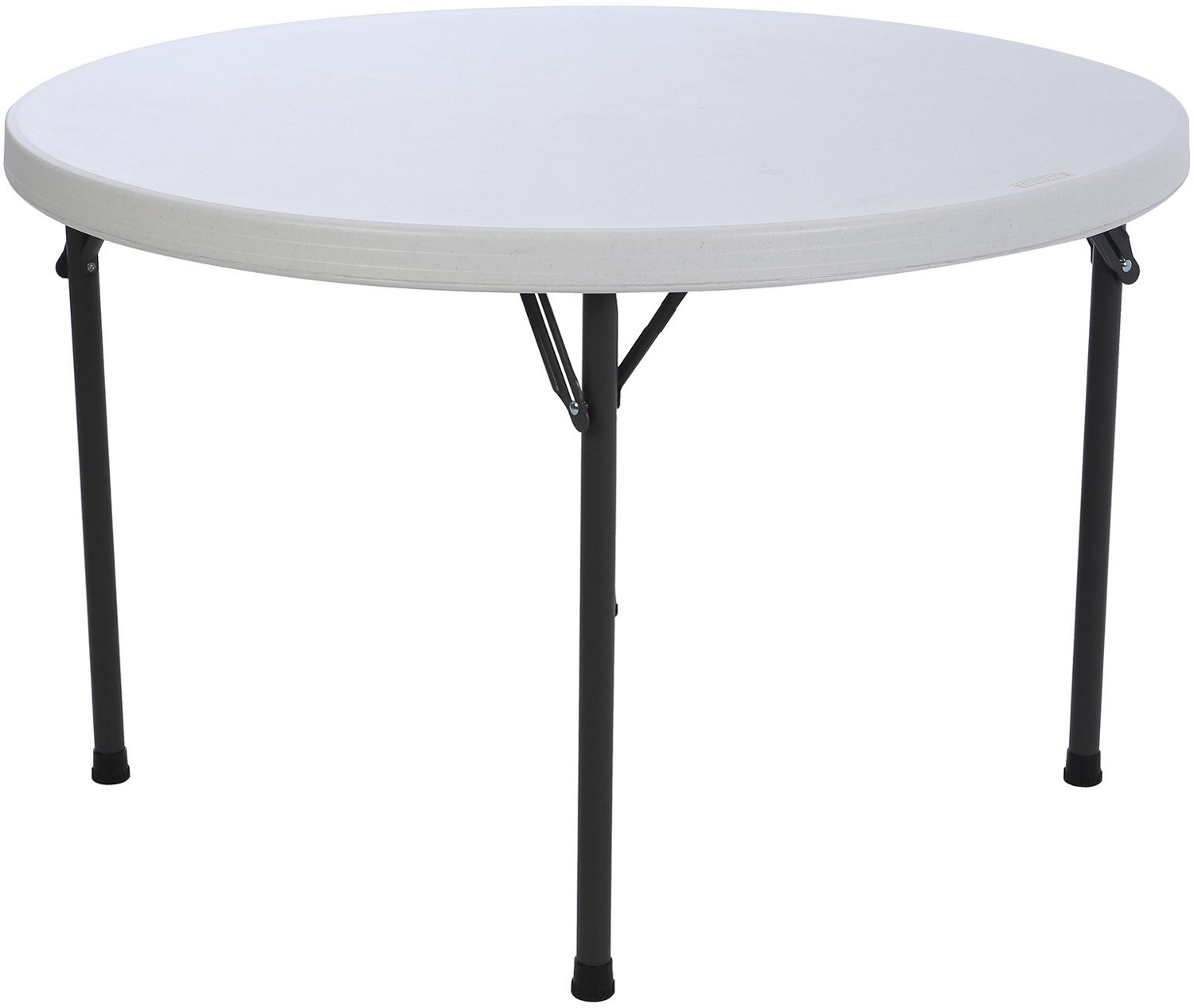 Lifetime 46 in Round Commercial Folding Table - view number 2