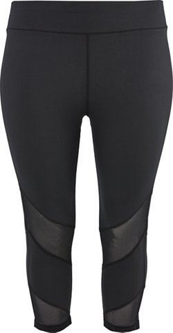 Women's Athletic Fashion Plus Size Leggings