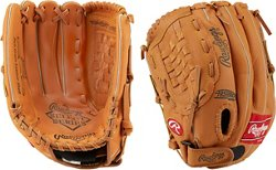 Select Series 12.5 in Pitcher/Infield/Outfield Baseball/Softball Glove Left-handed