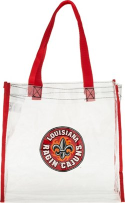 Forever Collectibles University of Louisiana at Lafayette Clear Reusable Bag