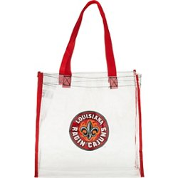 University of Louisiana at Lafayette Clear Reusable Bag