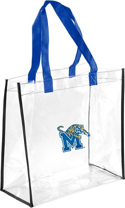 Forever Collectibles University of Memphis Clear Reusable Bag