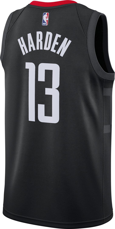 meet d46fb 766fa Nike Men s Houston Rockets James Harden Icon Edition Swingman Jersey    Academy
